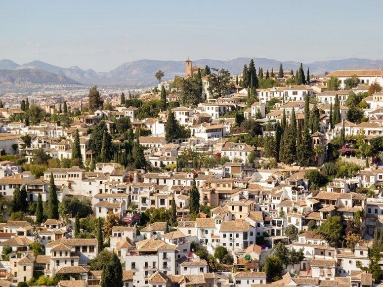 Granada dall'alto