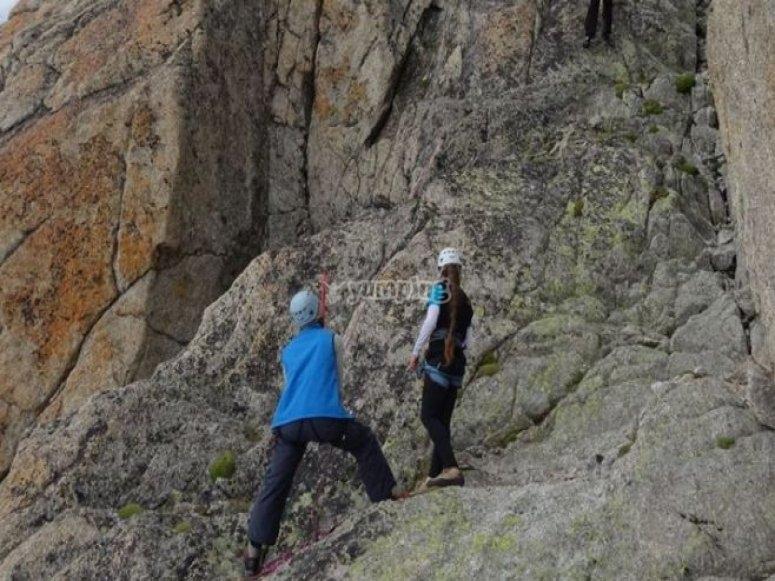 Assistenza di arrampicata