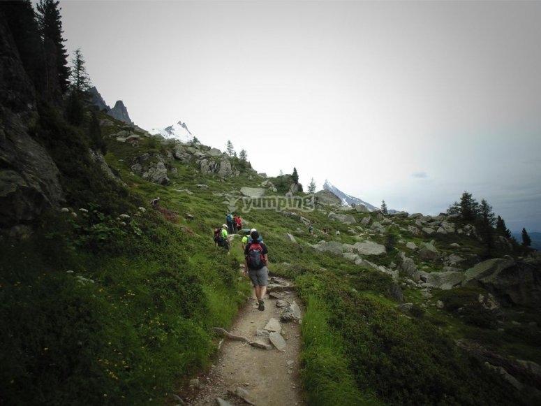 Itinerario escursionistico