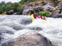 Rafting on the Ulla River