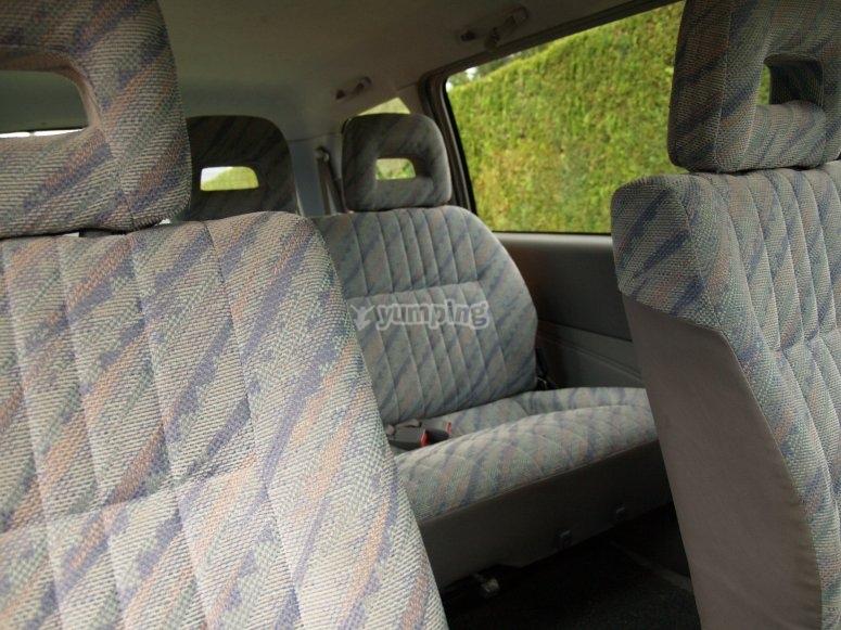 舒适的车辆内部