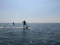 Atardecer en jet surf Puerto Cabo Roig