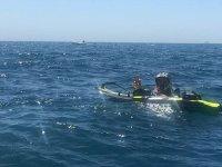 Buen día de surfeo en Alicante