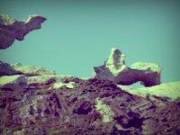 Impresionante geología en el Plan de Tudela