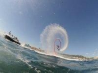 aerobica con il flyboard