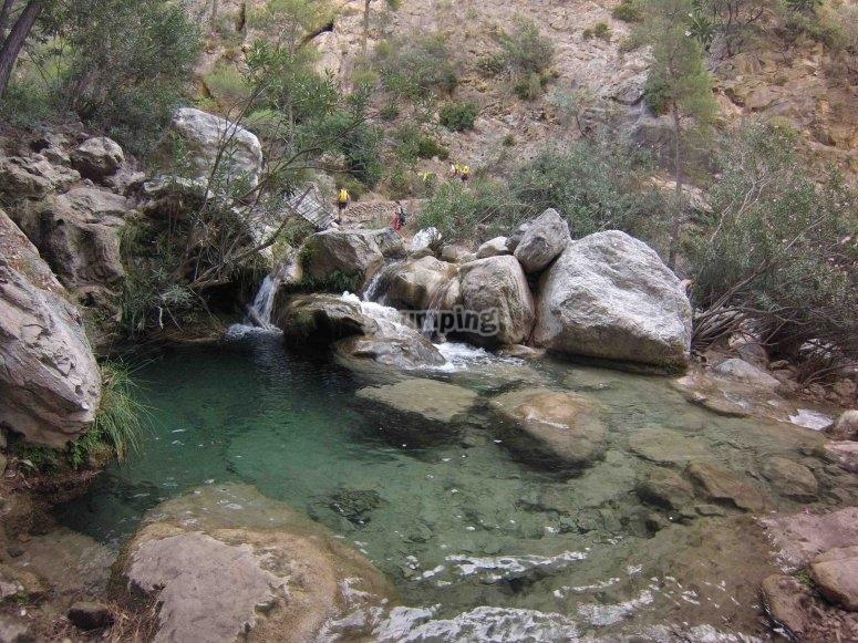 Barranco del río Verde