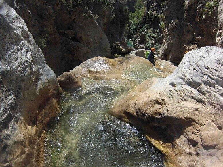Disfruta en el río Verde