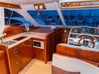 我们船上的所有舒适设施