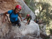 Via ferrata, medium level, Oliana, 4 hours