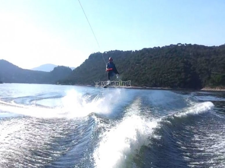 wakeboard grupo en madrid
