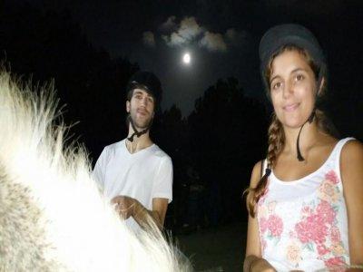 Ruta a Caballo nocturna en Parque Natural Garraf
