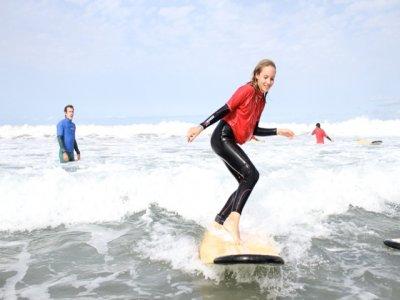 Curso surf 5 días, 7 noches apartamento, Famara
