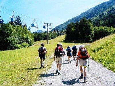 Trekking con interpretación de fauna y flora, 4 h.