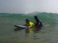 Curso de surf privado en Sancti Petri de 1hora
