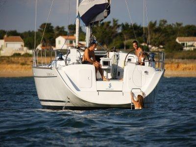 Alquiler de velero con patrón en Cambrils 7 horas