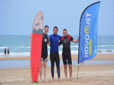 Alquiler material de surf medio día, Sancti Petri