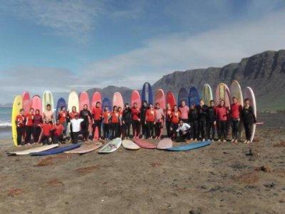 Surfcamp con Eric Rebiere en Navidad, Famara