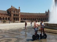 Summer ride on segway in Seville