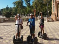 Greeting from the segway on Seville