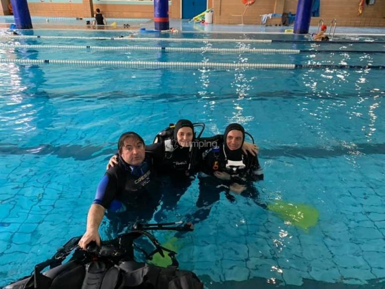 公开水域潜水员