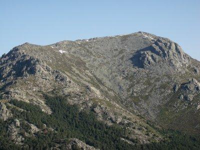 Montañismo a la cima de la Sierra de Guadarrama