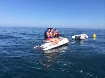 Ruta guiada en jet ski biplaza 2 horas, Marbella