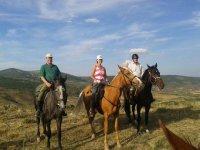 Scegli un itinerario a cavallo nella natura