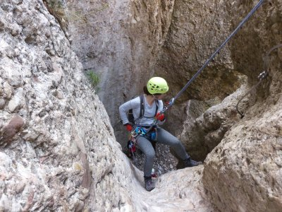 Winter canyoning in Montserrat 6 hours