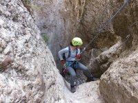 在蒙特塞拉特(Montserrat)的溪降