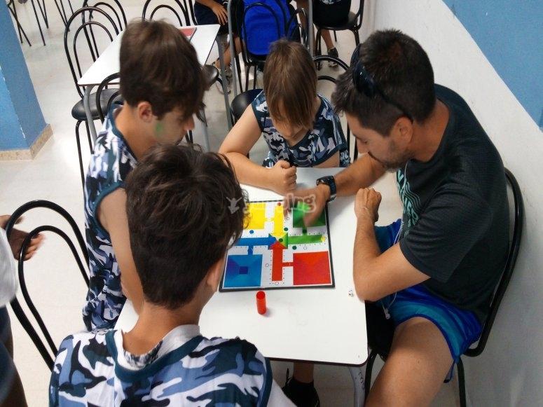 Actividades de mesa para niños