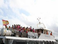 fiesta en barco