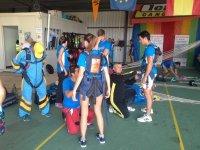 Preparando a los saltadores