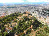 The Alhambra from the air