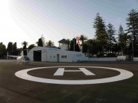 Our heliport