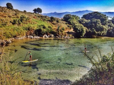 Battesimo di Stand Up Paddle Surf a Llanes 2 ore