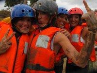 team building con chalecos