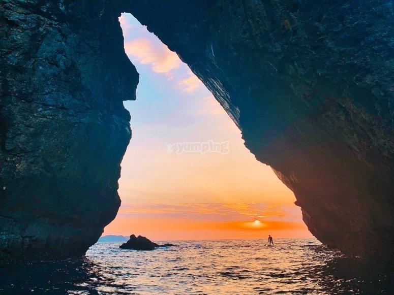 利亚内斯桨冲浪日落之旅