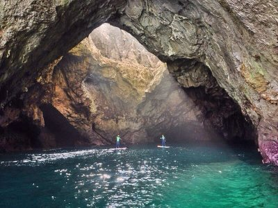 Speleologia Stand Up Paddle Surf Llanes 3 o 4 ore