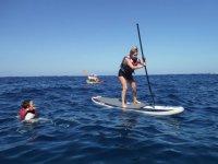 Paddle surf en en Atlántico