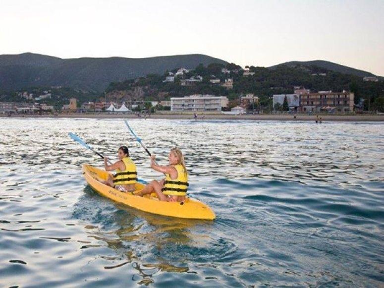 kayak en castelldefels