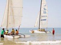 regata del catamaran