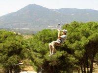 马德里的绳索和定向公园2小时30分钟