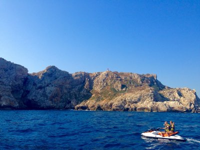 Jet Ski Route in Medes Islands and Montgrí - 90min