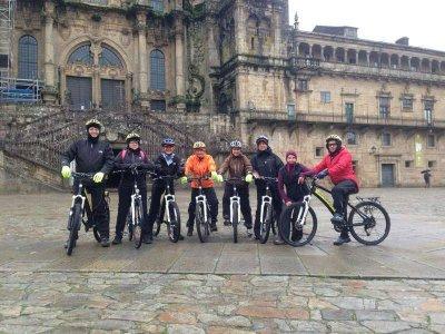 Route of Santiago de Compostela on  electric BTT