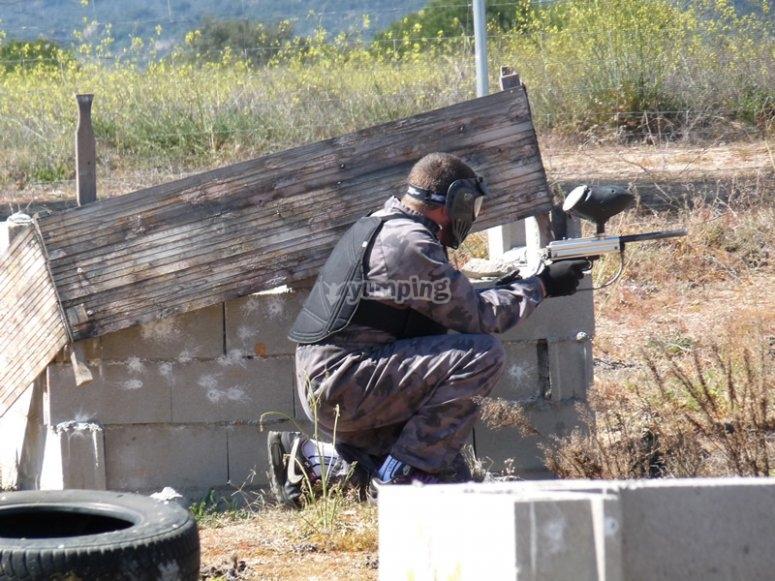 Shooting position