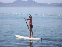 SUP in the waters of Murcia