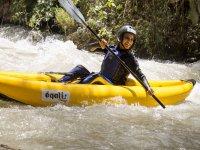 Genil河中的皮划艇一日游