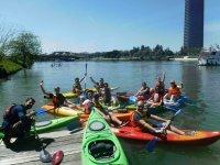 Conoce Sevilla en kayak
