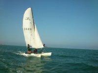 catamaran à voile