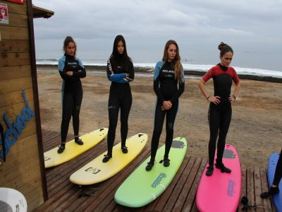 介绍在Playa delasAméricas冲浪3天